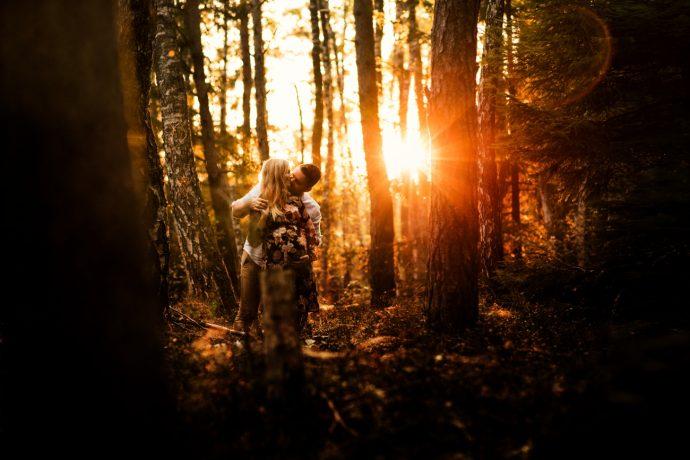 Raudonas miškas